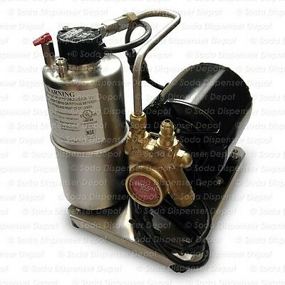 Soda Fountain Small Mccanns Carbonator New