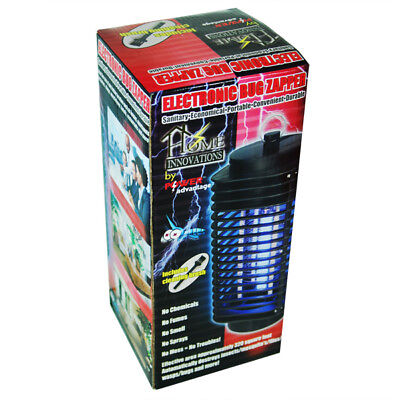 Compact Portable Electric Indoor  Outdoor Uv Bug Zapper Mosquito Insect Killer