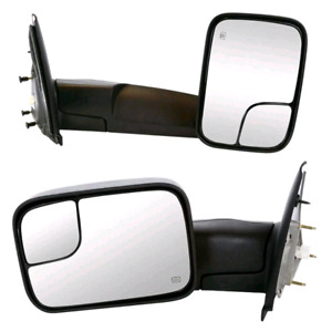 Dodge Ram Tow Mirrors Fits 02-08
