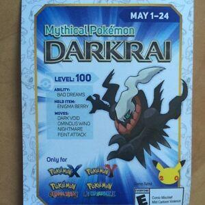 Level 100 darkrai
