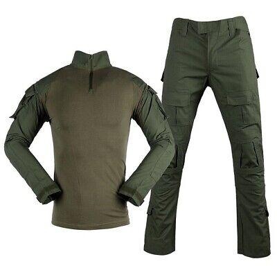 +Coderas y rodilleras env24//48h talla L Uniforme estilo militar  completo ACU