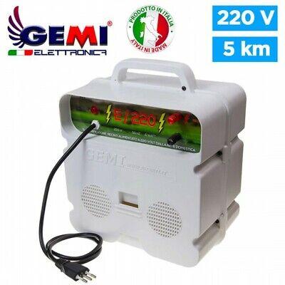 Electrificador para Cercas eléctrica Para Pastor eléctrico 5 Km 220 V Gemi