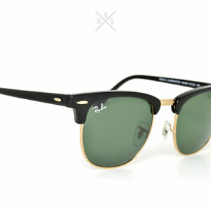 Ray ban - Clubmaster - Medium - New - Handmade in Italy