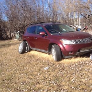 2004 Nissan Murano for parts