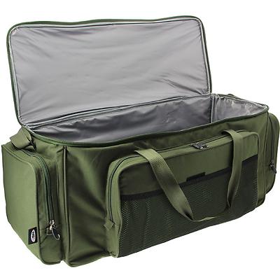 NEU XL Angeltasche Carryall mit Isolierung Camouflage 56x29x32cm Karpfen NGT
