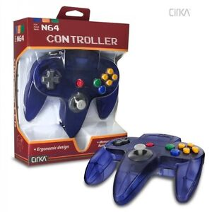 GRAPE PURPLE - Funtastic Controller - Game Pad For Nintendo 64 - N64 - *NEW*