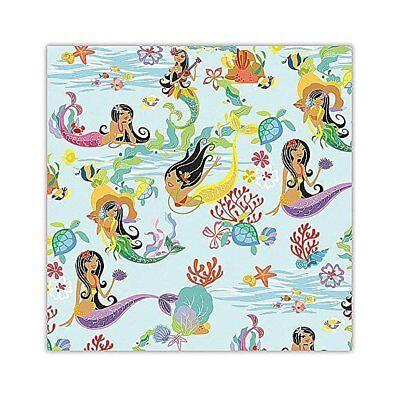 Island Heritage Hula Mermaids Hawaiian Gift Wrap Paper 2 Rolls](Mermaid Gift Wrap)