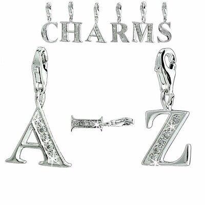 5 Buchstaben Charm Armketten Einhänger Armband Bettelarmband  (Armband Charms)