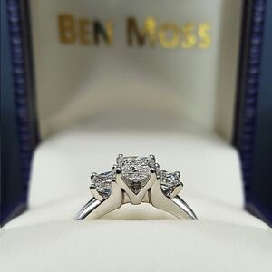 White Gold Diamond Engagement Ring, appraised at $4000