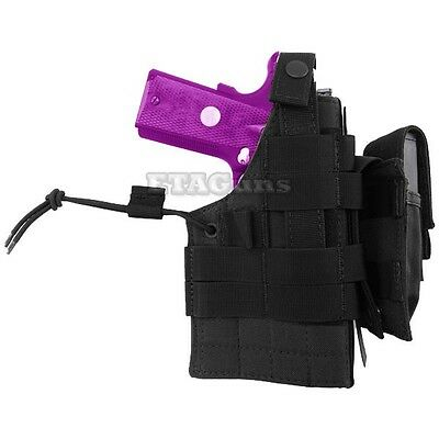 NEW Condor H-1911 Tactical MOLLE Ambidextrous Pistol Holster & Mag Pouch BLACK