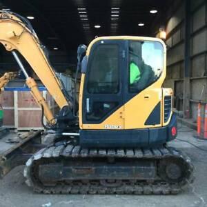 Hyundai R80CR-9 Excavator Hallam Casey Area Preview