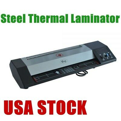 Usa - 13 A3 A4 Steel Thermal Laminator Hot Cold Laminator Machine