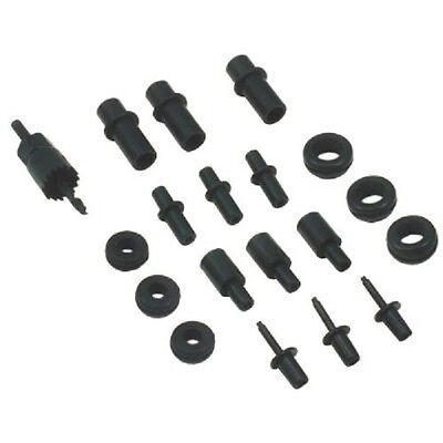 Air Intake Vacuum Sensor Adapter Kit Attachments Metal or Plastic Tube Universal (Air Intake Systems Trucks)