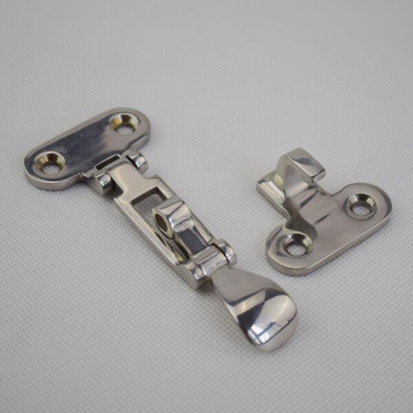 "4X Boat Locker Hatch Anti Rattle Latch Fastener 316 Stainless Steel 4-3//8/"" Globa"