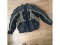 Belstaff mens motorcycle jacket Size : XL, with fully detachable quilted thermal lining