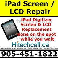 iPod, iPad, iPh Screen Replacement - repair is done the same day