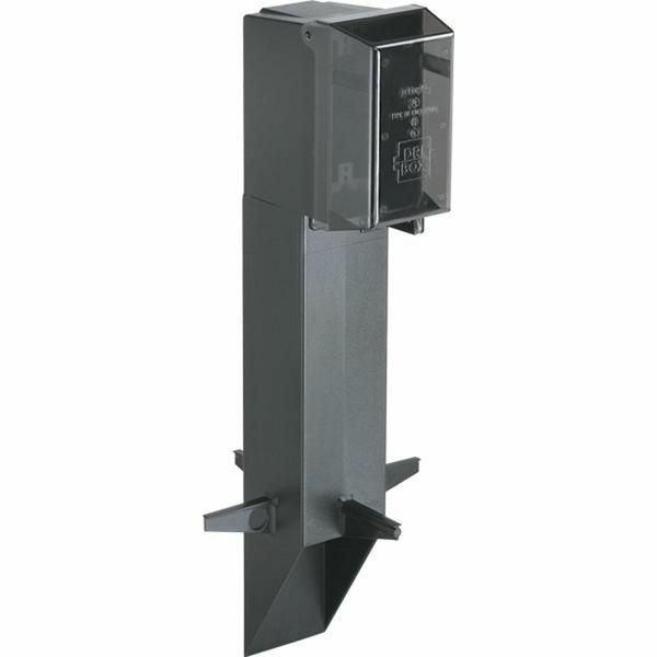 Arlington GPD19B Low Profile Enclosure With Built-In Cover UV Rated