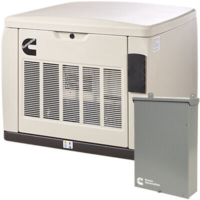 Cummins Rs20ac - 20kw Quiet Connecttrade Series Home Standby Generator Syst...