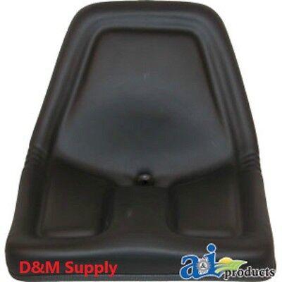 Black Universal Mower Seat To Fit John Deere Gator Seat Tm333bl