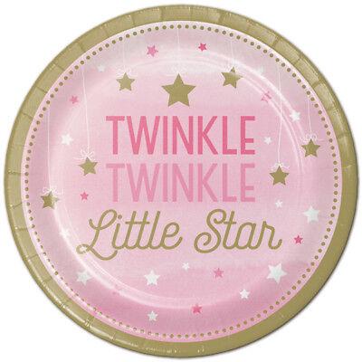 Twinkle Twinkle Little One (Twinkle Twinkle Little Star One Little Star Girl Party Supplies Dessert)