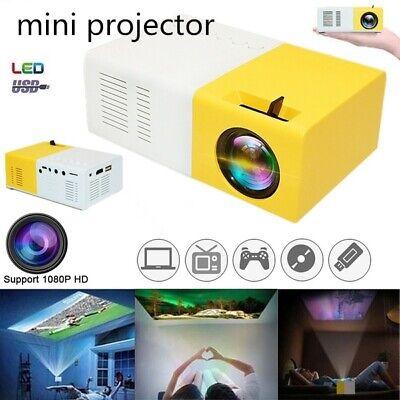 Mini Portable Projector YG300 3D HD LED Home Theater Cinema 320*180 AV USB HDMI