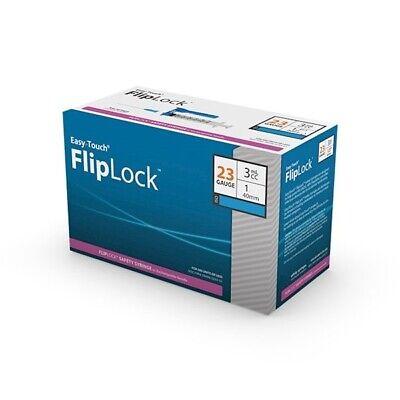 Easytouch 3ml 23g 1 Inch Safety Fliplock 50bx Expired Item