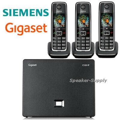 Gigaset GIGASET-C530IP Cordless Hybrid Expandable Phone for