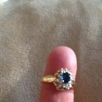 Win Her Over With a Blue Saphire Ring