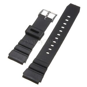18mm-Men-Military-Black-Silicone-Rubber-Waterproof-Sport-Wrist-Watch-Band-Strap