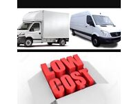 SMALL-BIG VANS MOVING LORRY LUTON VAN TRUCK HIRE WITH DRIVER FOR REMOVALS DELIVERY SERVICE AND MAN