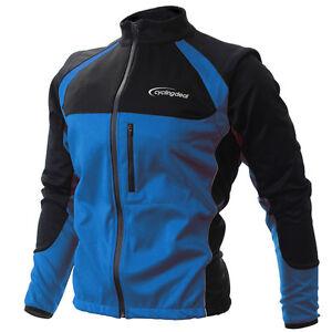 Cycling-Bicycle-Bike-Jersey-Wind-Rain-Jacket-Vest-Blue