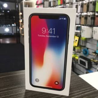 As new iPhone X Space Grey 64G UNLOCKED AU MODEL INVOICE WARRANTY