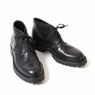COMME des GARCONS HOMME Leather Shoes Size US 6(K-48820)