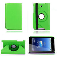 360° Rotatable Leather Stand Case Cover For ASUS