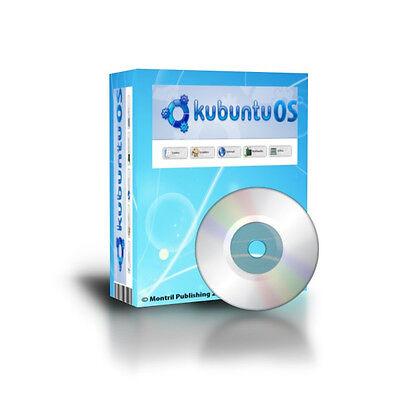 Latest LINUX Kubuntu OS 32Bit alternative to Windows XP, Vista,7 DVDROM (Os Windows 7 Cd)