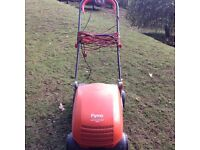 Flymo lawn rake compact 3400 electric