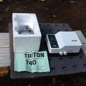 Triton T40 shower pump