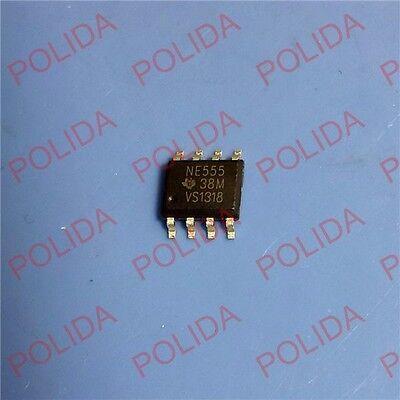 20pcs Timers Ic Ti Sop-8 Ne555dr Ne555d Ne555