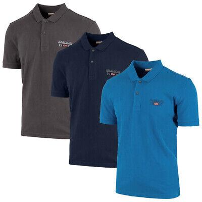 Napapijri Erthow Polo Men Herren Short Sleeve Shirt Kurzarm T-Shirt N0YILY