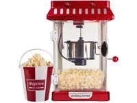 Andrew James Retro Kettle Popcorn Maker