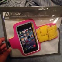 BRAND NEW REFLECTIVE IPHONE 5 ARM BAND