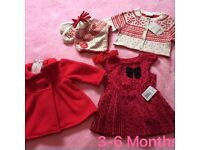 3-6 selection of girls clothes new with tags