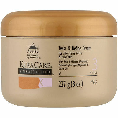 KeraCare Natural Textures Twist & Define Cream 8oz