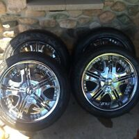 "22"" rims and tires !"