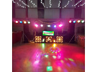 full mobile disco selling due to retirement
