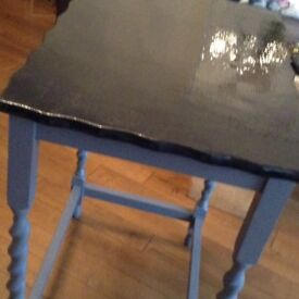 Side table up cycled
