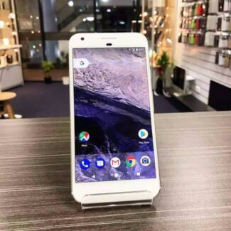 AS NEW GOOGLE PIXEL XL 32GB SILVER WITH WARRANTY TAX INVOICE