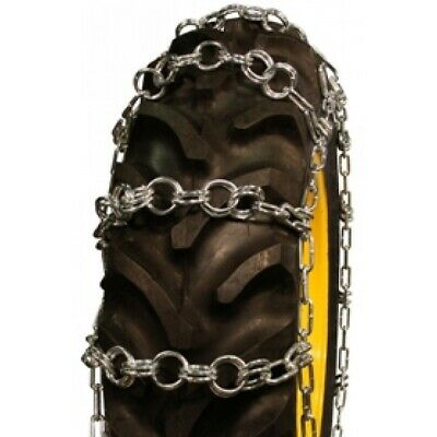 Rud Double Ring Pattern 20.8-34 Tractor Tire Chains - Nw790