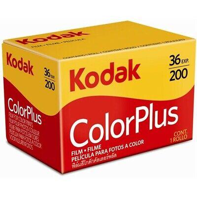Kodak ColorPlus 200 ASA 35mm Colour Print Film 135-36 Exposure
