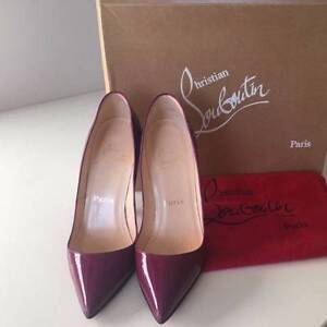 AUTHENTIC Like New Christian Louboutin Pigalle120 IT36 Patent Sydney City Inner Sydney Preview